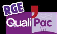 Qualipac RGE, RGE, label de Merceron Michel, plombier, électricien, chauffagiste à Challans, Saint Jean de monts et le perrier